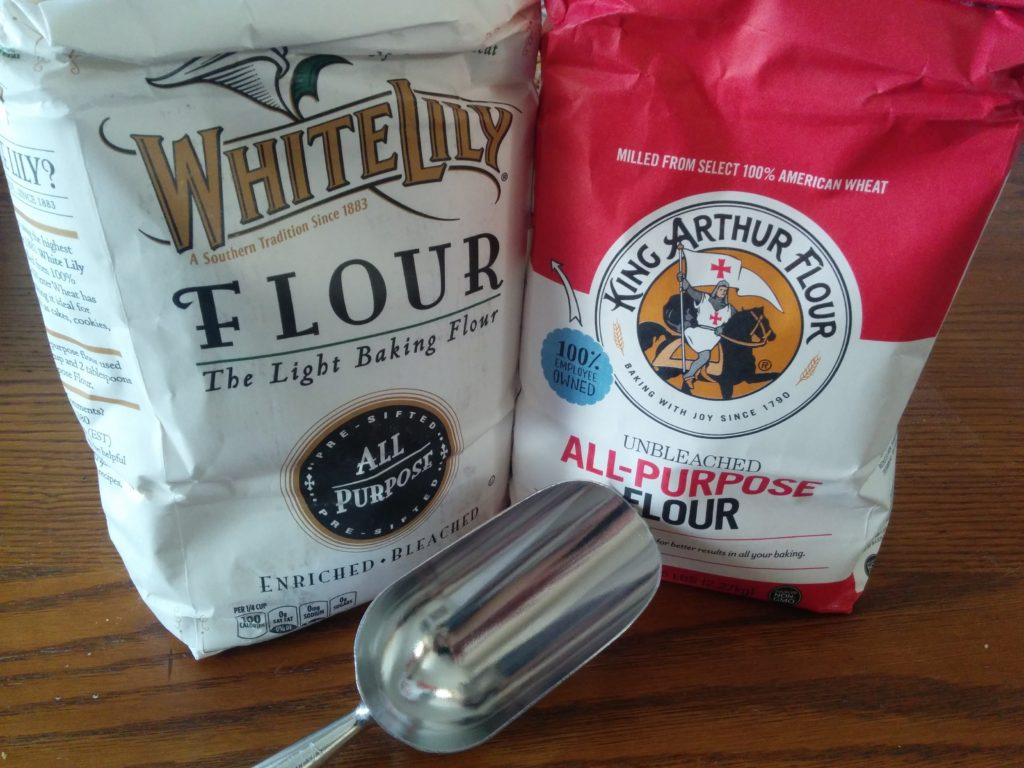 White Lily and King Arthur Flour