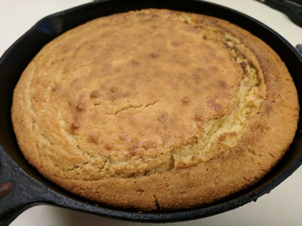 Spider Corn Cake