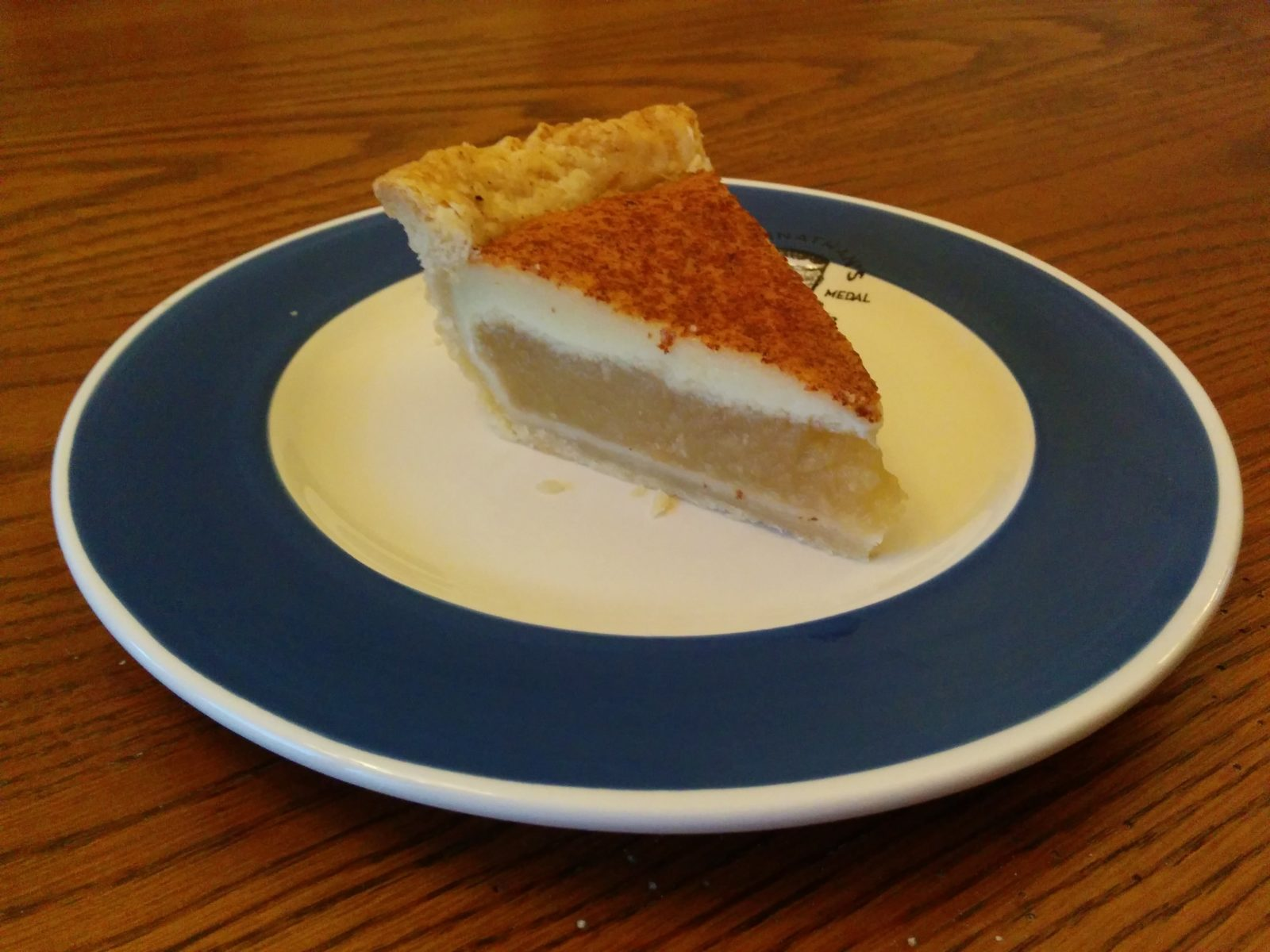 Apple Custard Pie Slice